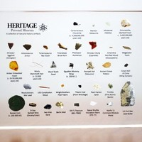 Heritage Personal Miniature Museum - Wright Flyer, Meteorite, Fossil, Coins, Artifacts