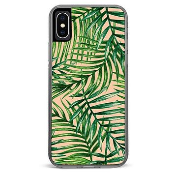 Palm Leaves iPhone X Case