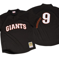 Mitchell & Ness Matt Williams 1995 Authentic Mesh BP Jersey San Francisco Giants In Black