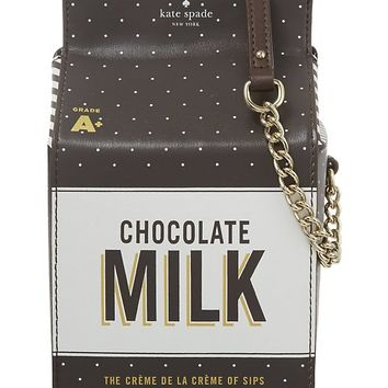 KATE SPADE - Chocolate Milk cross-body bag | Selfridges.com