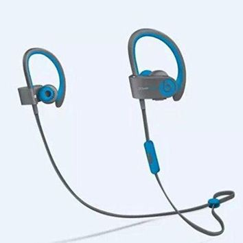 ONETOW Beats by Dr Dre Powerbeats 2 Wireless In-Ear Bluetooth Headphone (Flash Blue) Customer Return $40 Off (Tested Working Perfectly and repackaged) ¡­