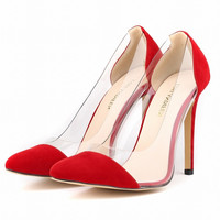 Sexy Women's Pumps Pointed Toe Girl's High Heeles