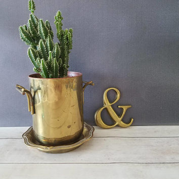 Ampersand/ Ampersand Bronze/ Ampersand Brass/ Ampersand Metal Sign/ Paper Weight/ Ampersand Wedding/ Brass Symbol/ And Symbol/ Mid Century