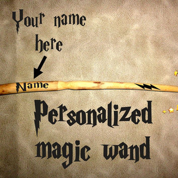 Magic Wand Wood Handmade, Wedding Wands-Wizard Wand, Fairy Wand, Let the Wand Choose You, Wand With Your Name, Hand made magic wand, Harry
