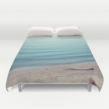 The Calm Duvet Cover by Faded  Photos