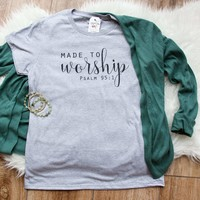 Made to Worship Classic Short Sleeve Shirt