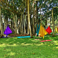 Aerial Yoga Hammock - Aerial (Unnata) Yoga Swing or Antigravity Yoga, TRX & Inversion Therapy