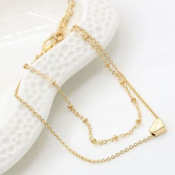 DCCK0OQ Jewelry Ladies Cute Gift Sexy Shiny New Arrival Stylish Double-layered Bracelet Anklet [10417792532]