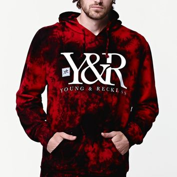 Young   Reckless Acid Turf Pullover Hoodie - Mens Hoodie - 61acf7333