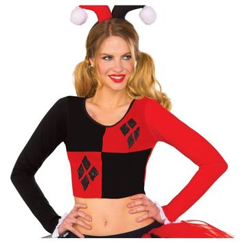 Harley Quinn Crop Top - Batman