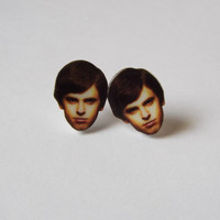 Norman Bates Earrings Fun Novelty Gag Gift Bates Motel Studs