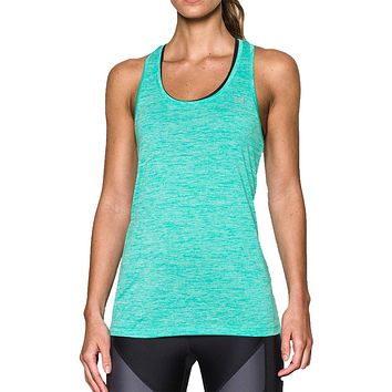 Women's UA Tech™ Twist Tank Top in Absinthe Green by Under Armour