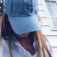 One-nice™ Vineyard Vines Casual Embroidery Sport Cap Sunshade Baseball Hat Cap