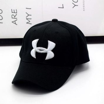 Hot Sale Under Armour Enbroidery Baseball Cap Hats Black