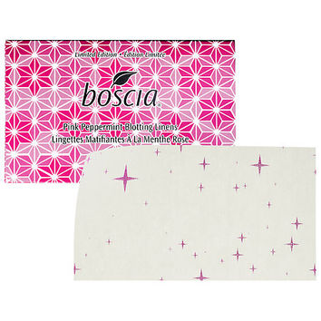 boscia Pink Peppermint Blotting Linens (100 sheets)