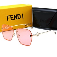 FENDI New Popular Women Men Summer Shades Eyeglasses Glasses Sunglasses