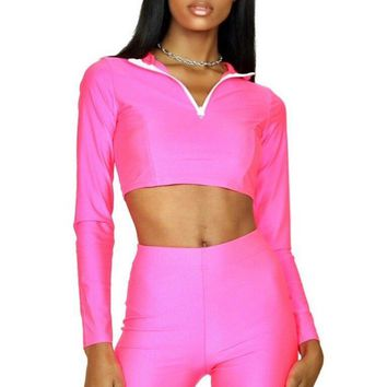 Malibu Barbie Biker Short Two Piece Set