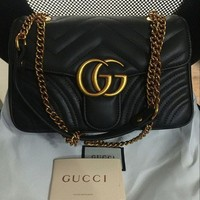 PEAPON3F Gucci-Handbag-Marmont-Matelasse-Women-Quilted-Leather-Crossbody-Bag
