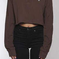 Vintage Polo Crop Rugby Shirt