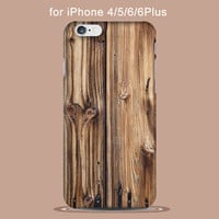 Real Natural Bamboo Wood Hard PC Phone Case Cover For iPhone 5 5s SE 6 6s plus 7 7plus