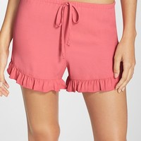 Women's Band of Gypsies Ruffle Shorts,