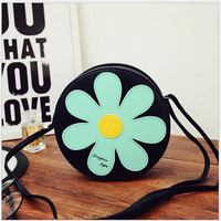 Cute Sun Flower Sweet Shoulder Bag Messenger Bag Handbag