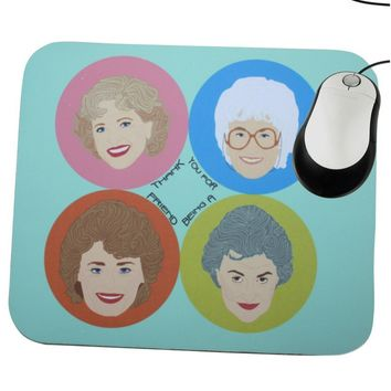 Golden Girls Mouse Pad - Illustrated and Handmade in the USA