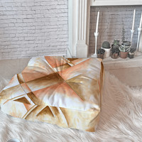 Madart Inc. Champagne Dreams 1 Floor Pillow Square