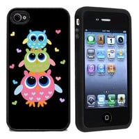3 Owls On Case / Cover For Apple iPhone 4 or 4s by Atomic Market