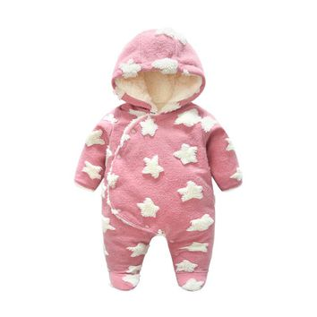 New Fashion Baby Clothes Bear Romper Long Sleeve Baby Girls Newborn Clothes 100% Cotton Sleepwear Baby Rompers Jumpsuit Toddler