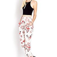 Cherry Blossom Woven Pants