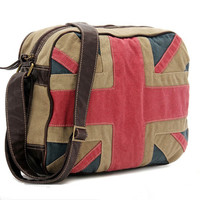 Unique Flag Canvas Shoulder Bag on Luulla