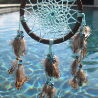 Mini Light Blue Dream Catcher