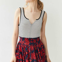 Ecote Adalina Floral Print Mini Skirt - Urban Outfitters