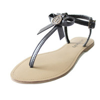 Loly in the Sky — Maribel black sandals with bow -Loly in the sky - Spring/Summer 2013 Collection