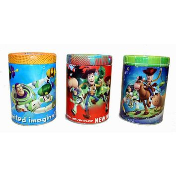 Toy Story Round Can Banks