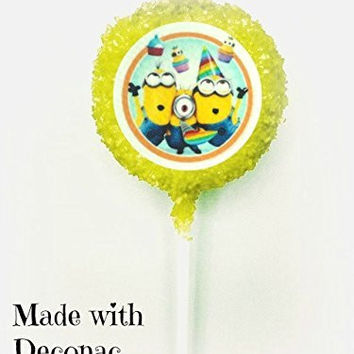 Despicable Me 2 Minions White Chocolate Covered Oreo Pops