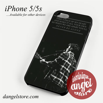 Shawn Mendes Quotes Phone case for iPhone 4/4s/5/5c/5s/6/6 plus