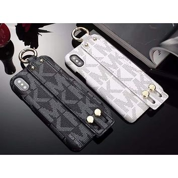 Michael Kors MK Fashion iPhone Phone Cover Case For iphone 6 6s 6plus 6s-plus 7 7plus 8 8plus X