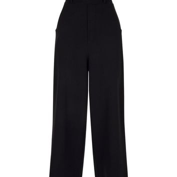Cameo Rose Black Culottes | New Look