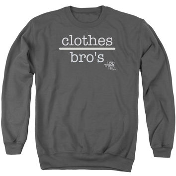 ONE TREE HILL/CLOTHES OVER BROS 2 - ADULT CREWNECK SWEATSHIRT - CHARCOAL -