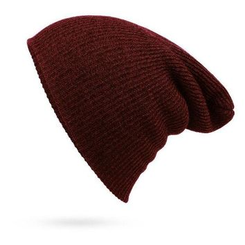 fd8216b8d14 LMOFN1 Perfect Fashion Stripe Crochet Women Men Beanies Winter K