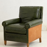 Library Armchair, Winter Pine