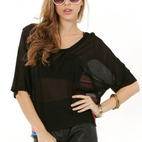 Sugarlips Black Rainbow Bright Top