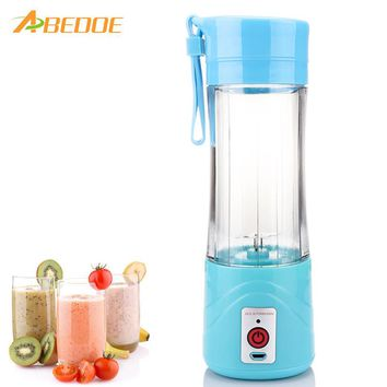 USB Rechargeable Electric Fruit Juicer Blender