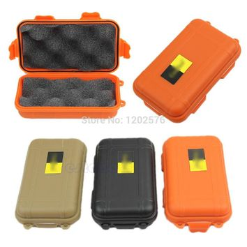 A96  Outdoor Plastic Waterproof Airtight Survival Case Container Storage Carry Box #XY#