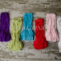 Girl ruffle lace shabby leg warmers, lace leggings, baby, toddler, girl, blue, red, green, ruffle leg covers, child, lacey, rustic, photo