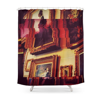 Society6 My Click On Expensive Glitch Shower Curtain