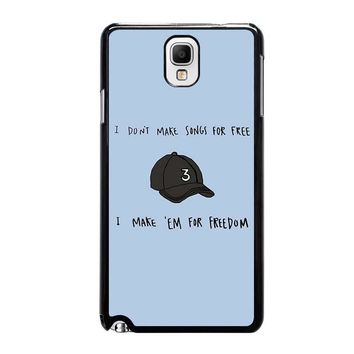 CHANCE 3 ACIDRAP QUOTE Samsung Galaxy Note 3 Case Cover