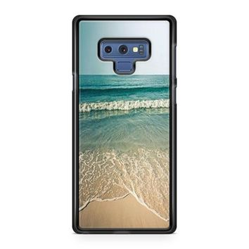 Beach Photography Vintage Samsung Galaxy Note 9 Case | Casefruits